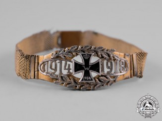 Germany, Imperial. A First War German Army Bracelet