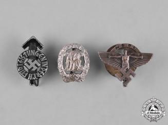 Germany, Third Reich. A Lot of Miniature Badges