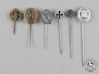 Germany Third Reich. A Lot of Third Reich Period Stickpins