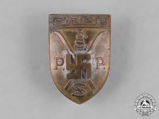 Germany, Third Reich. A Ski Badge, c.1935