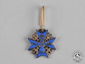 Germany, Imperial. A Miniature Pour le Mérite