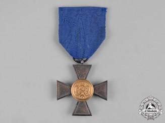 Prussia, State. A Militia 20-Year Long Service Cross, I Class