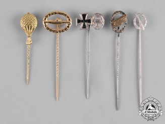 Germany, Federal Republic. A Lot of 1957 Issue Miniature Stickpins