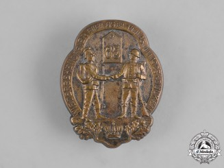 Germany, Imperial. A Reunion Badge for the 65th Infantry, c.1928