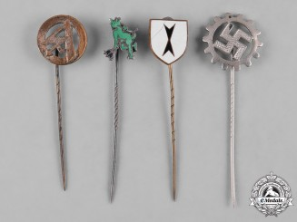 Germany, Third Reich. A Group of Second War Period Stickpins