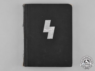 Germany, DJ. An Official DJ Photo Album Repurposed By US Soldier