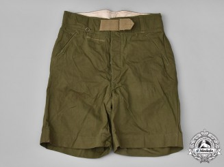 Germany, Heer. A Pair of Heer (Army) M42 Tropical Shorts