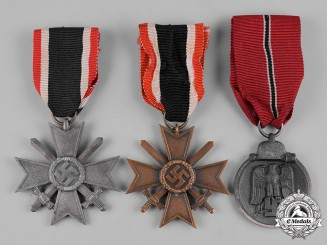 Germany, Wehrmacht. A Lot of Wehrmacht Service Medals