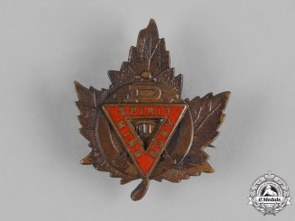 Canada. A YMCA Collar Badge with Spirit Body Mind/PX Design