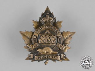 Canada. A Rare First War (No. 1) Jewish Infantry Company Cap Badge