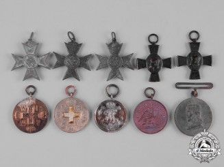 Germany, Imperial. A Group of Imperial German State Award Miniatures