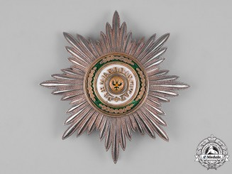 Russia, Imperial. An Order of Saint Stanislaus, Civil Division I Class Star, Non-Christian Version, by Keibel