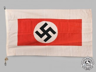 Germany, Kriegsmarine. A Harbour Pilot's Flag