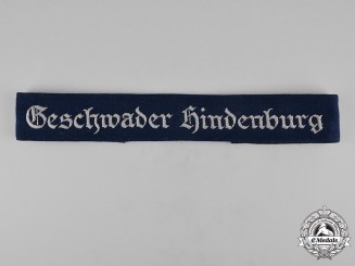 Germany, Luftwaffe. A Geschwader Hindenburg Cuff Title