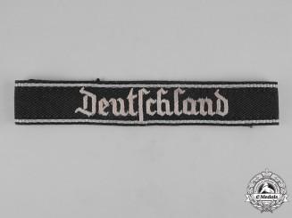 "Germany, SS. A SS-Verfügungstruppe ""Deutschland"" Cuff Title"