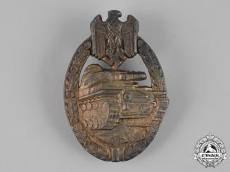 Germany, Heer. A Panzer Assault Badge, Bronze Grade