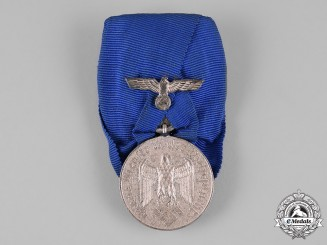 Germany, Wehrmacht.  A Parade Mounted Wehrmacht Army 4-Year Long Service Award