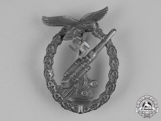 Germany, Luftwaffe.A Flak Badge, by Friedrich Linden