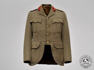 Canada. First War Service Dress Jacket, Named to Colonel Samuel Maynard Rogers, 43rd Regiment, Veteran of the North-West Rebellion and the Boer War