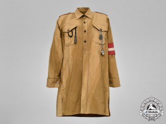 Germany, HJ. A HJ Service Shirt, c.1939