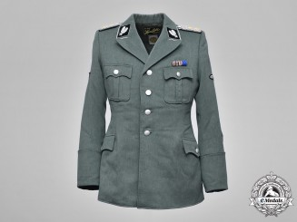 Germany, SS. A Rasse & Settlement Main Office Oberführer's Tunic, by Hans Götz