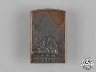Hungary, Kingdom. A 1915 First War Commemorative Badge