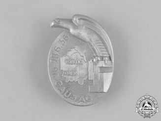 Germany, Third Reich. A 1936 Koblenz and Trier District Day Badge