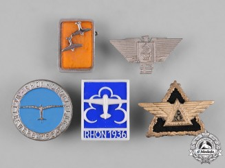 Germany, Third Reich. A Lot of Third Reich Aviation Badges
