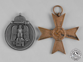 Germany, Wehrmacht. A Pair of Second War Period Wehrmacht Medals