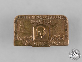 Austria-Hungary, Imperial. A 2nd Army Carpathian Winter Campaign Cap Badge, by Gurschner