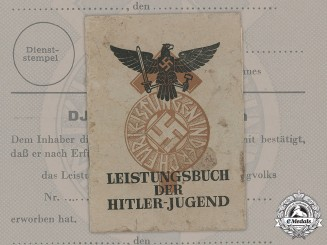 Germany, HJ. An Unissued HJ Achievement Book