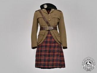 Canada. A Cameron Highlanders Service Uniform, to Lieut.-General John W. H. Rowley, DSO, KIA