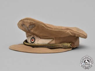 Germany, Luftwaffe. An Officer's Tropical Field Visor Cap