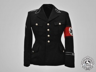 Germany, SS. A Reichsführer-SS Personnel Staff Sturmführer Tunic, Named, by George Höcker, c.1936