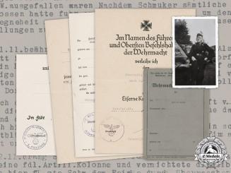 "Germany, Heer. A Document Collection To ""Puma"" Driver Feldwebel Rudolf Schmuker (EK1)"