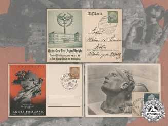 Germany, Third Reich. A Lot of Second War Period Postcards
