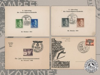 Germany, Third Reich. A Lot of Postcards from Occupied Poland