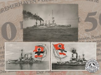 Germany, Weimar. A Collection of Battleship Postcards