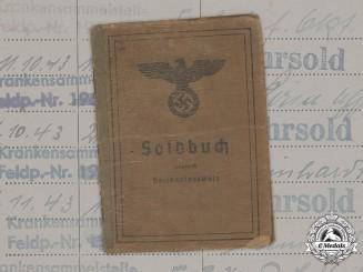 Germany, Heer. A Soldbuch to Jäger-Ersatz-Bataillon 49, Siege of Leningrad