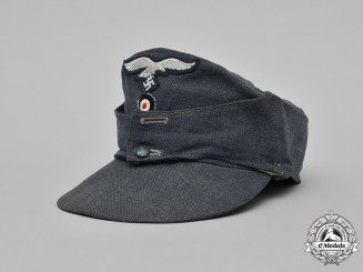 Germany, Luftwaffe. An EM/NCO's M43 Field Cap