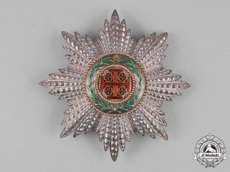 Vatican. A Equestrian Order of the Holy Sepulchre of Jerusalem, Grand Cross Star