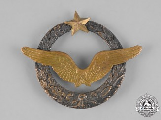 France, Third Republic. An Army of the Air Aircraft Pilot Qualification Badge