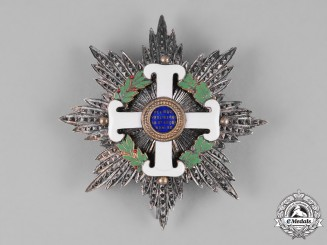 San Marino, Republic. An Order of San Marino, Grand Officer Star, by ALBERTI & C.