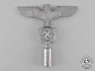 Germany, Third Reich. A NSDAP Second Model Flag Pole Top