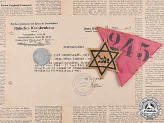 Germany. A Wartime Document Group of Ernst Israel Fischer