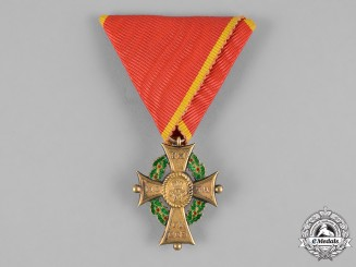 Braunschweig, Dukedom. An Order of Henry the Lion in Gold, I Class Merit Cross