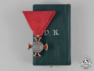Austria, Imperial. A Merit Cross, IV Class, by V. Mayers Söhne, c.1915