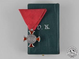 Austria, Imperial. A Merit Cross, IV Class, by V. Mayers Söhne, c.1915
