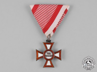 Austria, Imperial. A Military Merit Cross, III Class, by C.F. Rothe, c.1900