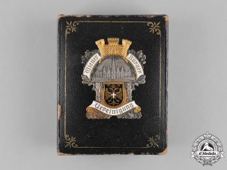 Austria, Imperial. A Viennese Citizens Association Member's Badge, by Reinemer & Spiegel